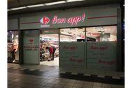 Carrefour Bon App! est la nouvelle enseigne testée par le distributeur à Paris. Avec une offre uniquement consacrée au snacking.