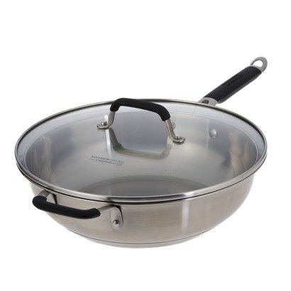 Calphalon Kitchen Essentials Stainless Steel Jumbo Frying ...