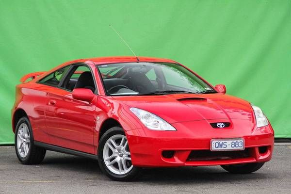 Toyota Celica in Red looks good