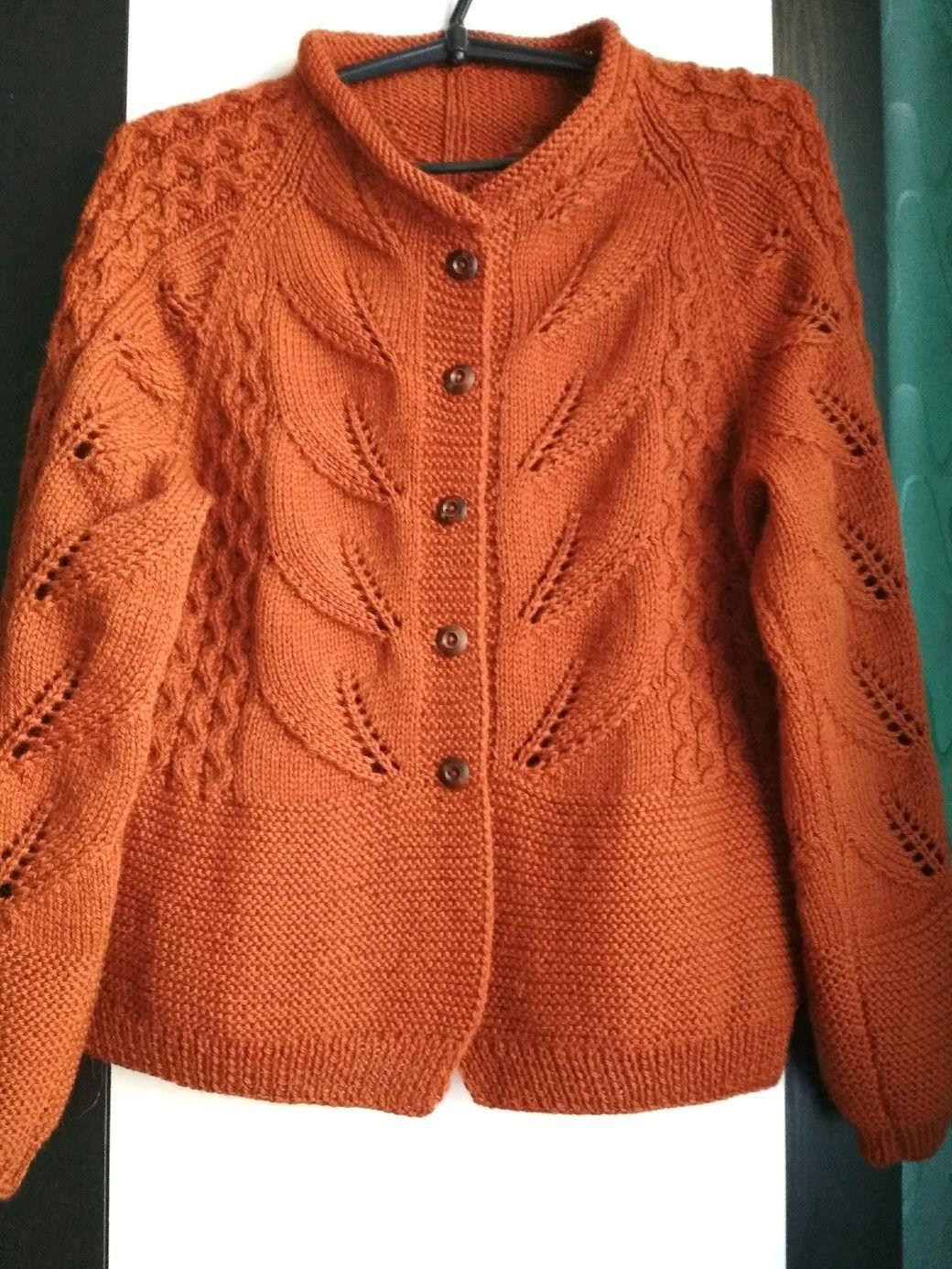 Bestellen Bluse aus Wolle gestrickt Herbst Winter  – Вязание