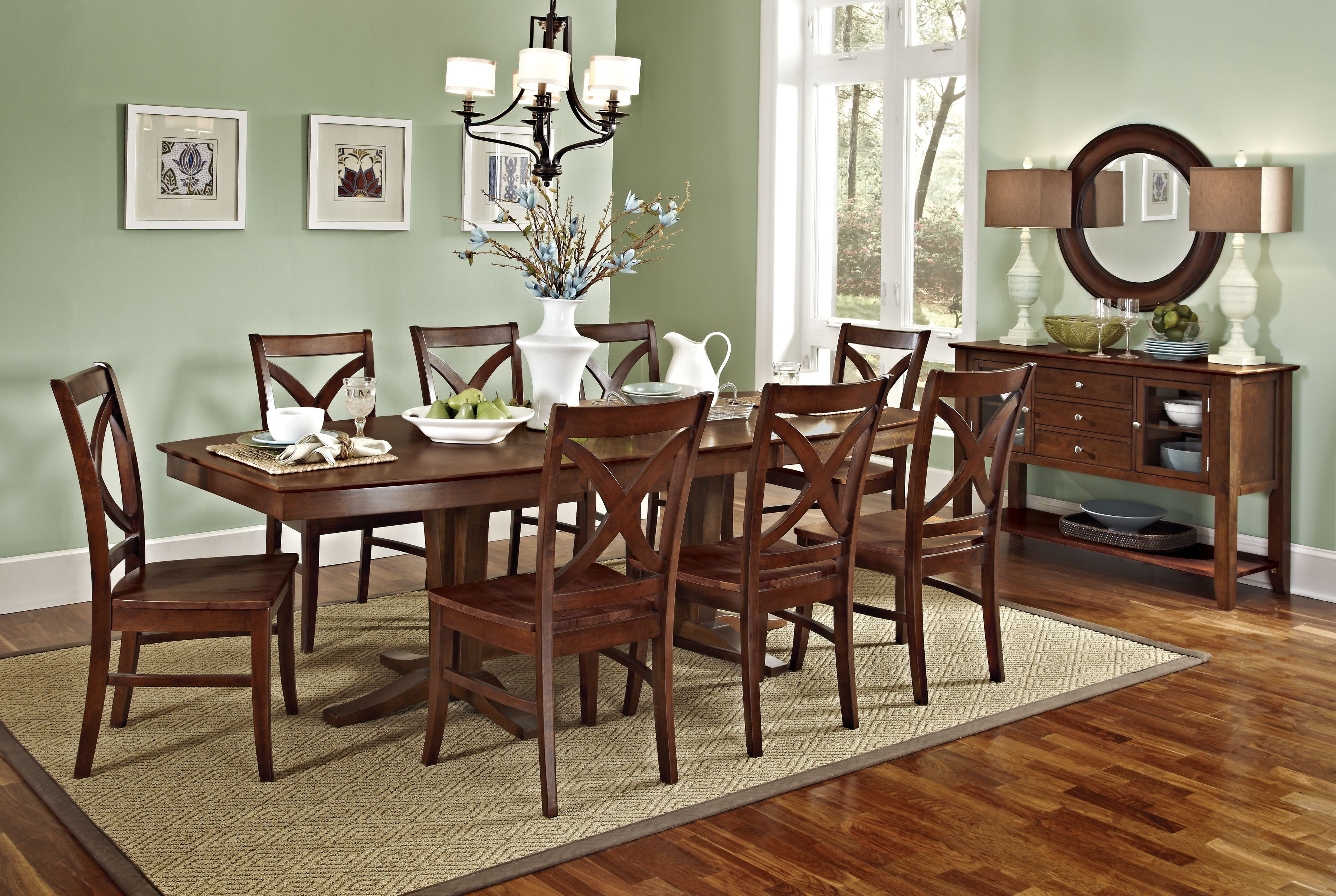 Cosmopolitan Collection By John Thomas Furniture Available Through Wood Crafted Furniture Anc Double Pedestal