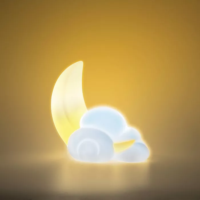 Moon and Cloud Mood Light - West & Arrow