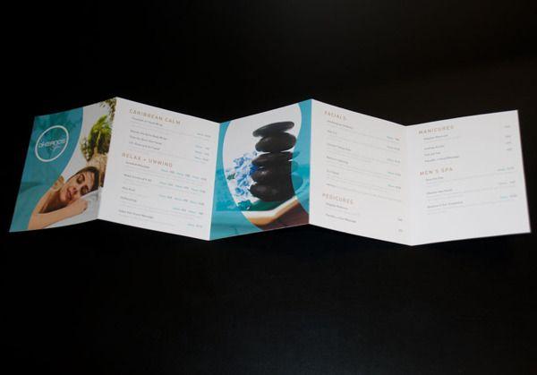 Spa Brochure  Spa Brochure Design    Brochures