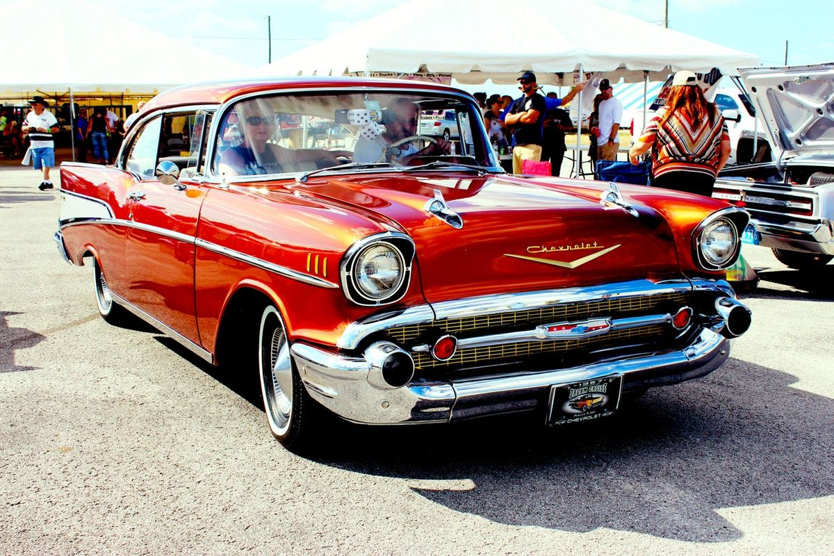 Vintage Car Free Stock Photo | 57 chevys | Pinterest | Cars