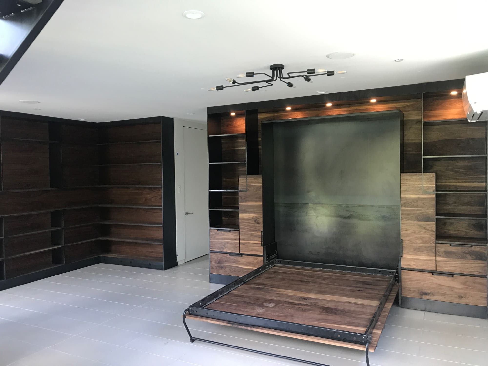 Custom Murphy Bed By Brian Chilton Design At Client Residence