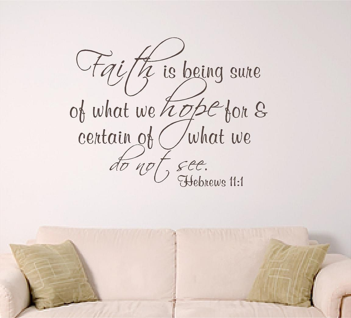 Faith Quotes From The Bible Bible Verse Wall Art Faith$16.00 Via Etsy Jesus  Pinterest