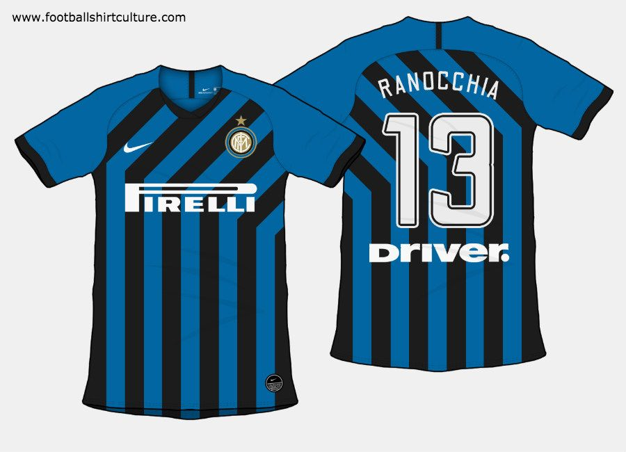 Inter Milan 2019 20 Home Kit Prediction Intermilan Internazionale Fcinter Inter Milan Soccer Jersey Milan