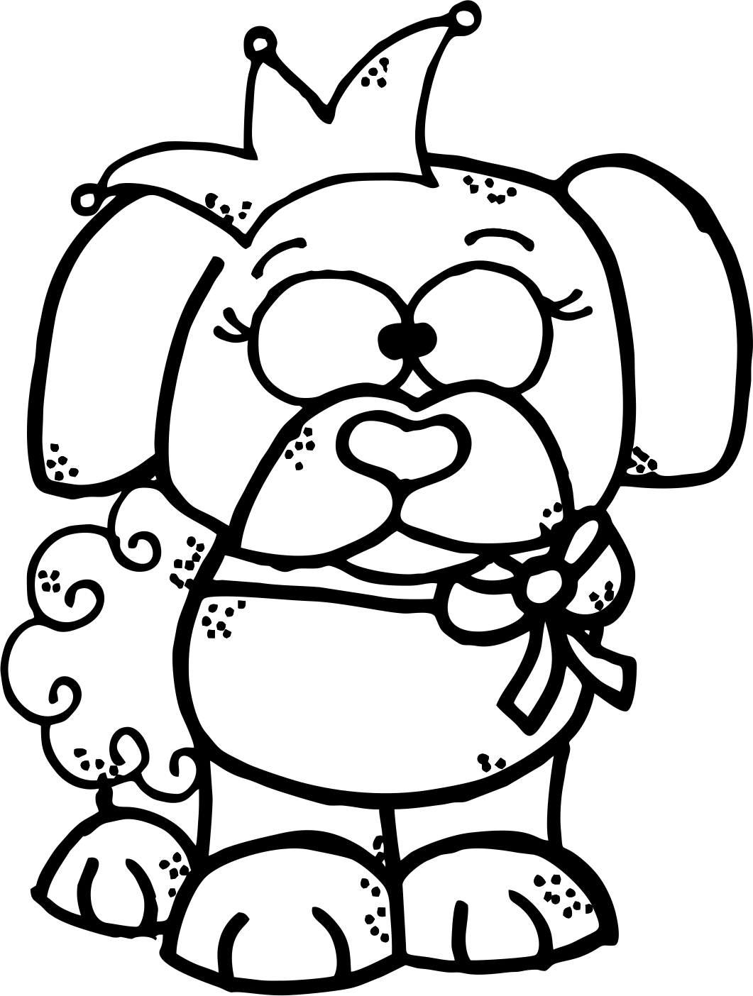 hight resolution of worksheetjunkie free dog clipart