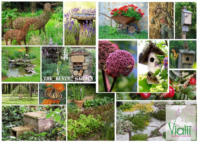 Garden Design Mood Board moodboard for the rustic wildlife garden for jupiter urban