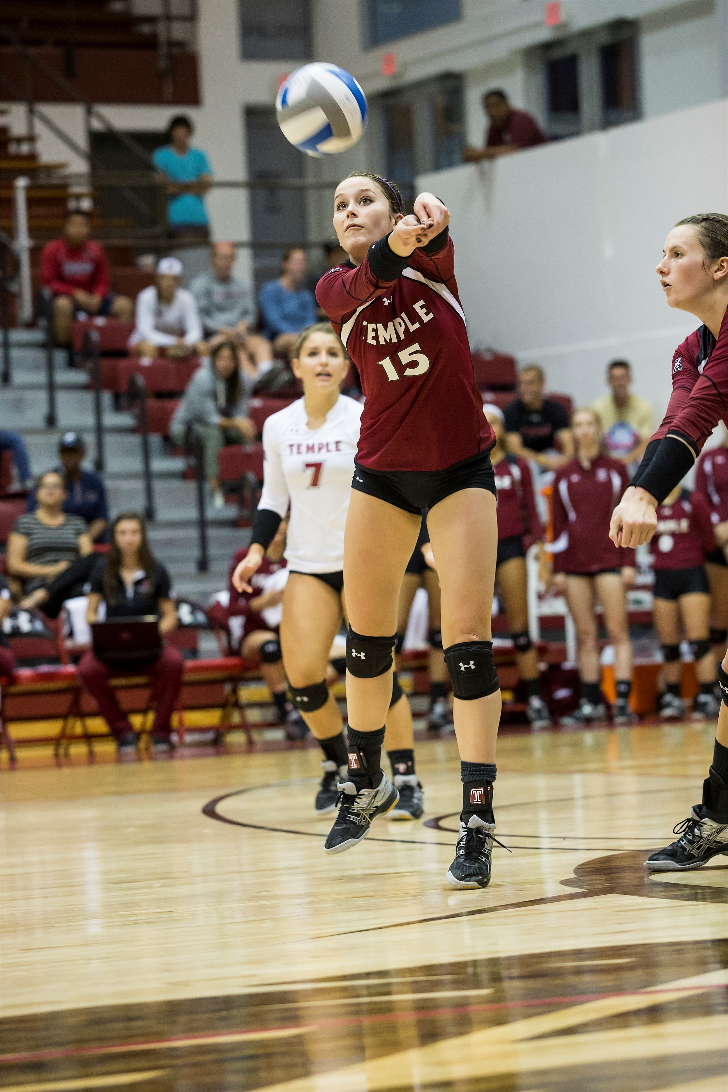 Three From Volleyball Named To All Conference Team American Athletic Conference College Athletics Volleyball