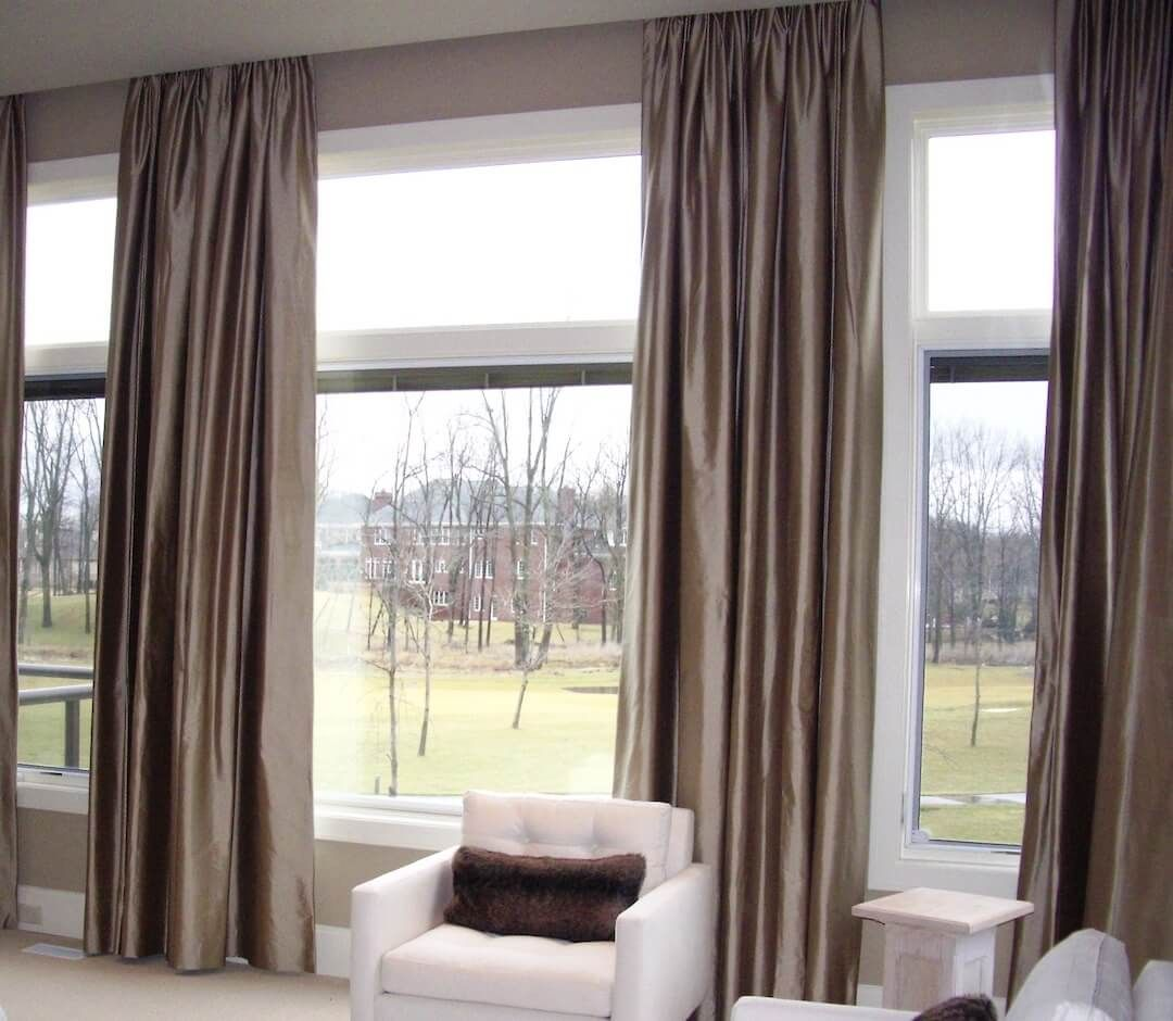 Two Story Window Treatments With Images