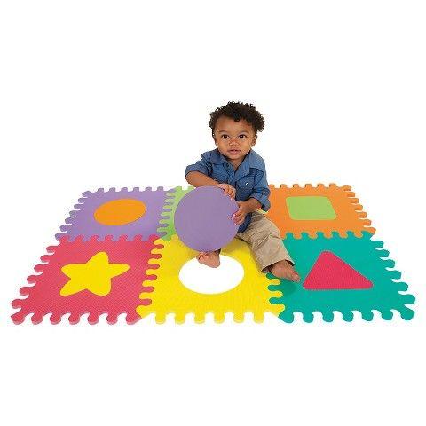 Infantino Go Gaga Soft Foam Puzzle Mat