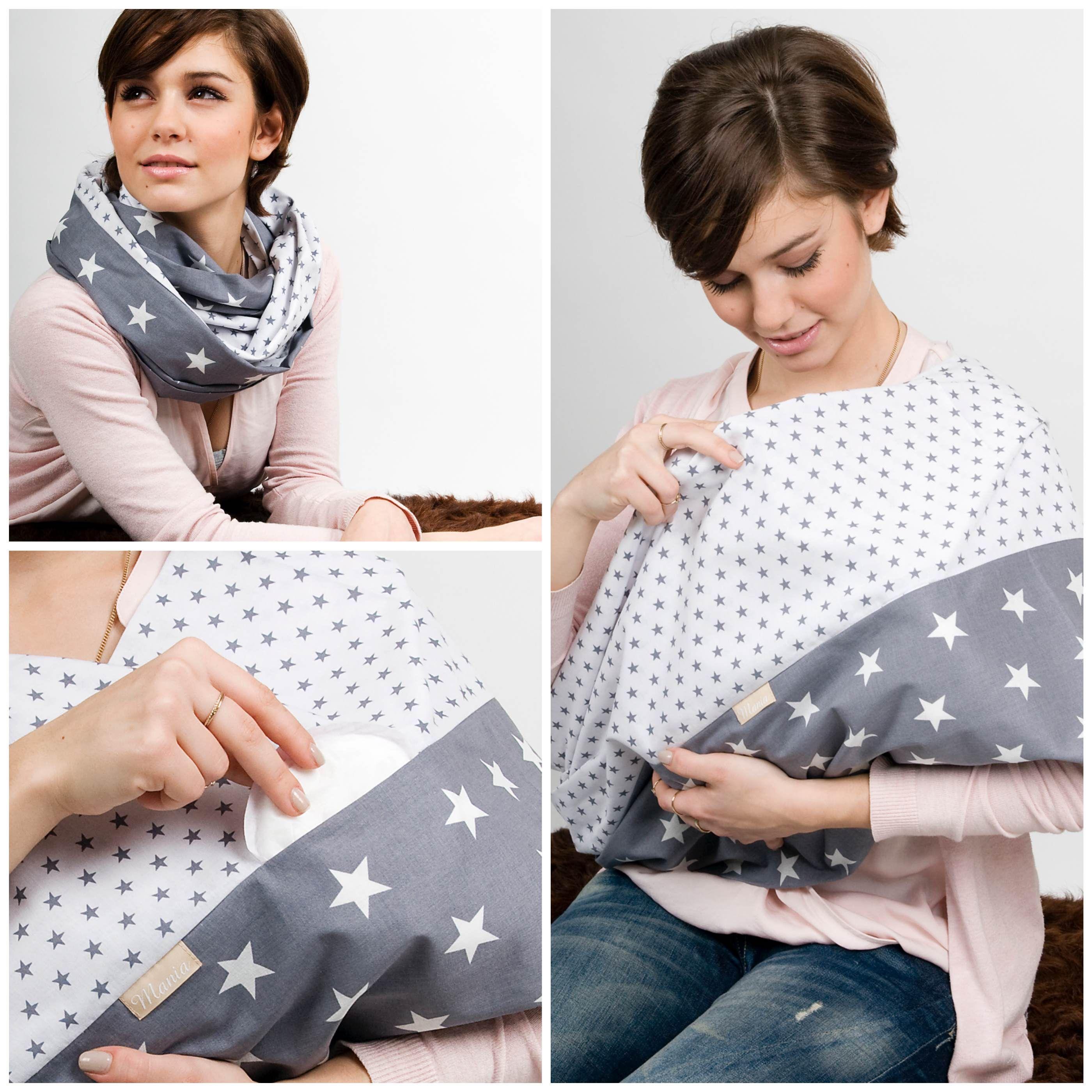 breastfeeding scarf Stillschal Sternenhimmel | Nähprojekte ...