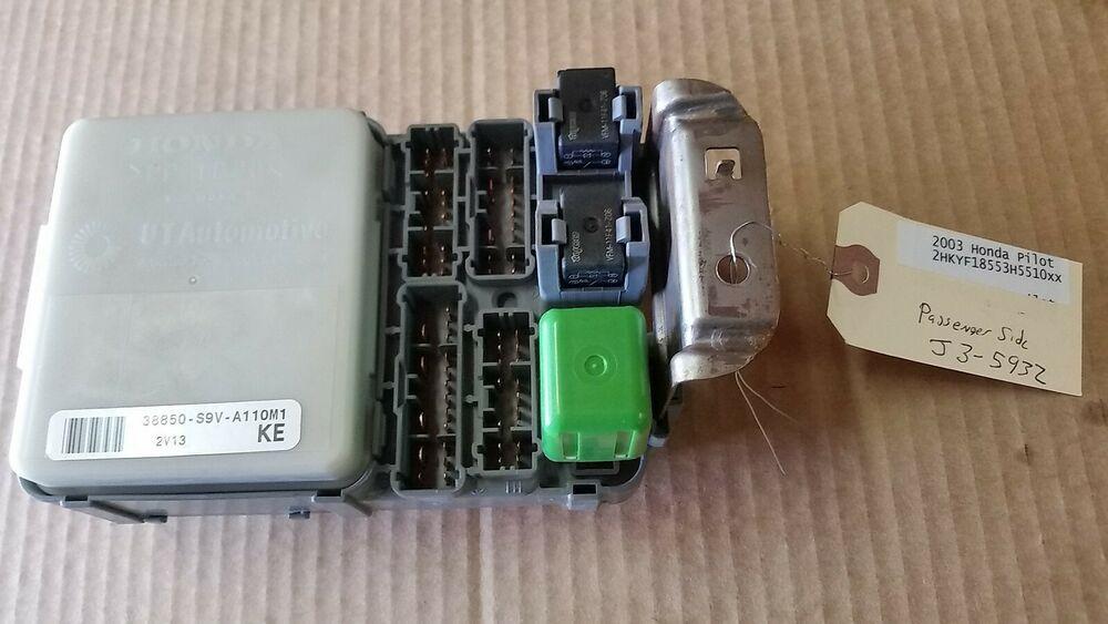 03 Range Rover Fuse Box