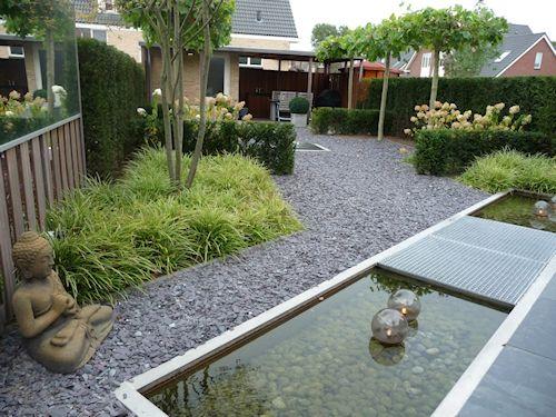 Gijsbers hoveniers referenties voorbeeldtuinen for Voorbeeldtuinen kleine tuin