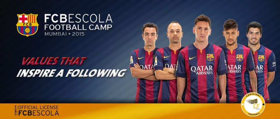 Get the ultimate FCBarcelona football experience this