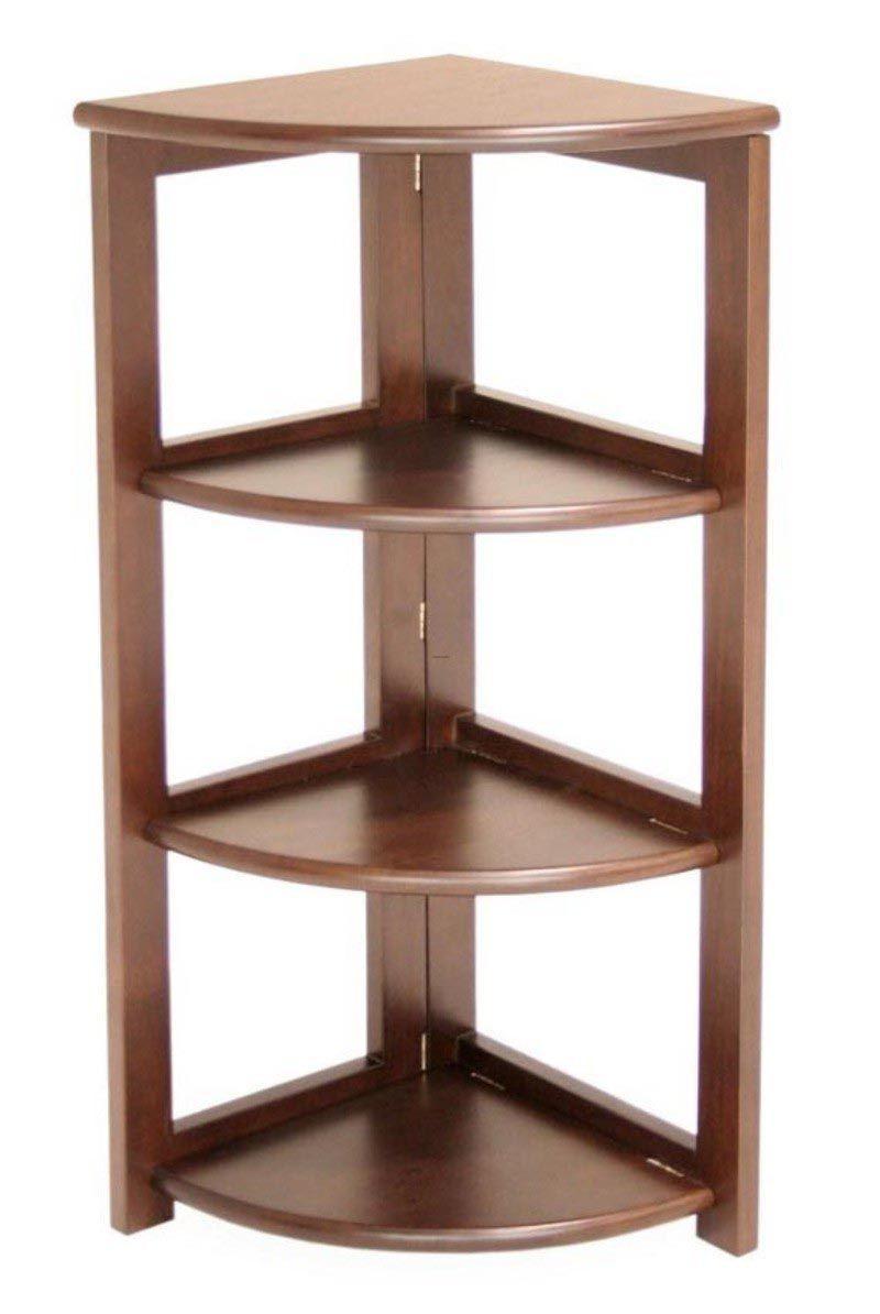 corner wall mount shelves