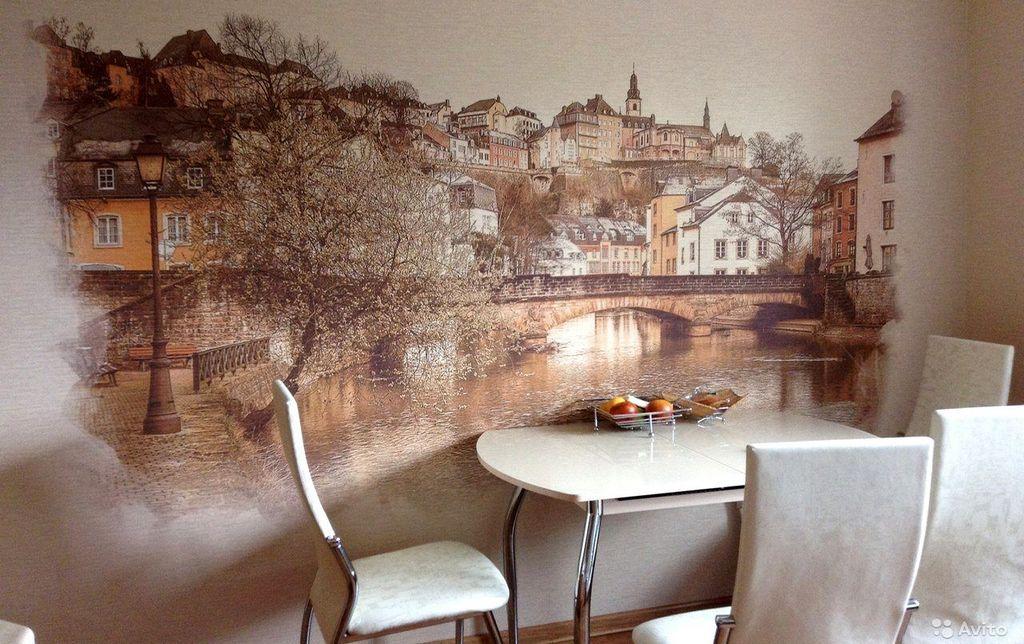 фреска на кухню фото интерьера