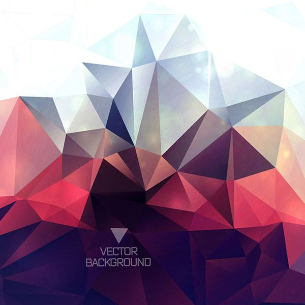 พื้นหลังรูปทรงเรขาคณิตสไตล์ทึบ | ของแต่งห้อง | Triangle ...