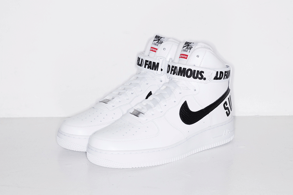 Supreme X Nike Air Force 1 High Release Information Shoe Stores Online Nike Shoes Cheap Nike Shoes Women