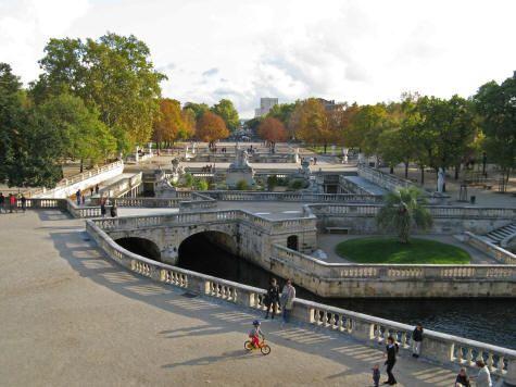 Jardin De La Fontaine Nimes France Jardins De La Fontaine Les