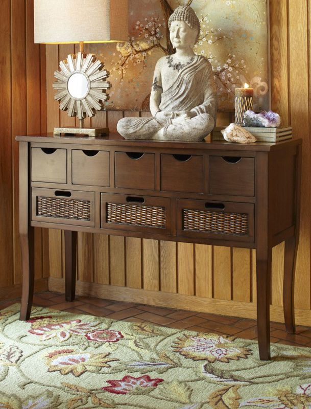 Perfect Form Meets Function In The Pier 1 Logan Storage Console