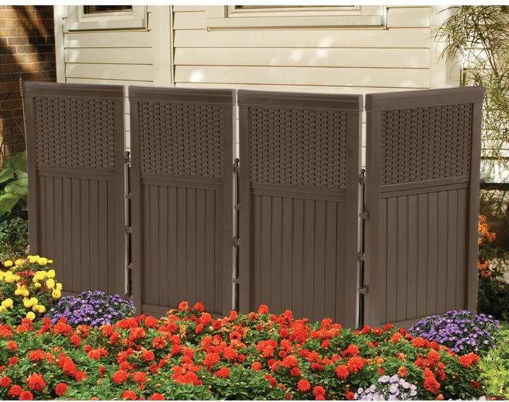 Suncast 4 Piece 2 X 3 5 Outdoor Screen Enclosure Set Diy Patio Decor Diy Patio Outdoor Patio Diy