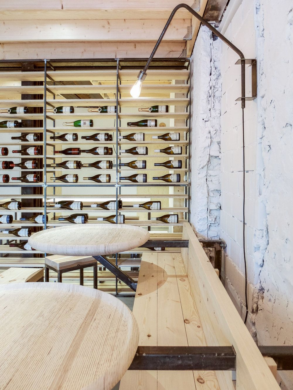 klein agency - wine bar antwerp | public spaces interior | Pinterest
