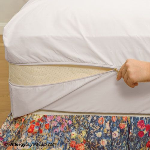 Dust Mite Pillow Covers New White Mountain Textiles Cotton Deluxe Mattress Cover  Mattress Review