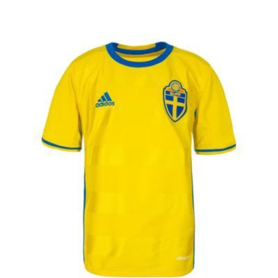 online store 76dc3 1e496 Adidas Schweden EM 2016 Heim Fußballtrikot Kinder ...