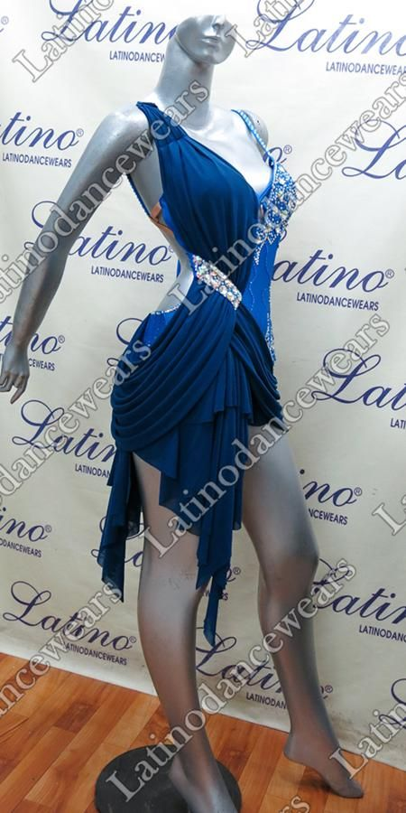 LATIN SALSA COMPETITION DRESS LDW (LT857) LATIN-SALSA-COMPETITION-DRESS-LDW-LT857 Latino Dancewears
