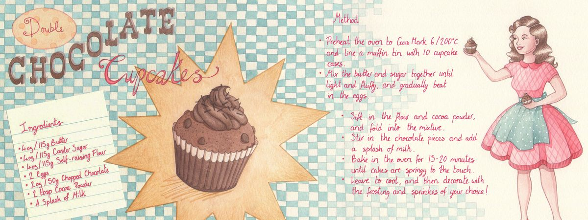 Double Chocolate Cupcakes by Becki Harper