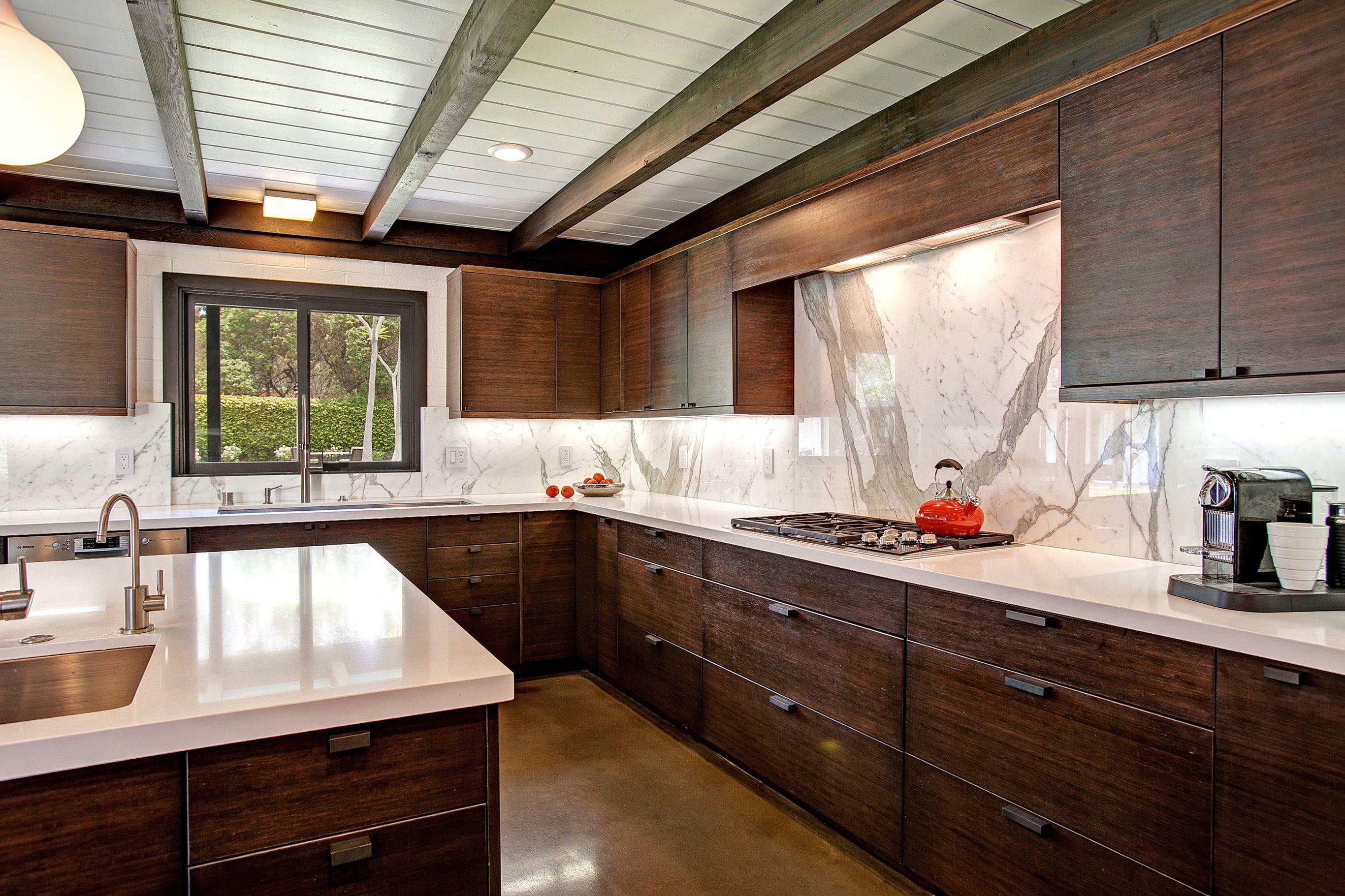 Mid Century Modern Kitchen Design Dewils Custom Cabinetry In 2020 Contemporary Kitchen Remodel Mid Century Modern Kitchen Design Modern Kitchen Design