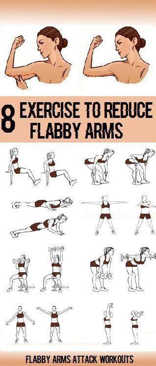 Workouts: 8 einfache Übungen, um schlaffe Arme zu reduzieren  #fitness #fitnessübungen #bauchmuskeltraining #fitnessmodel #fitnessübungenfrauen #frauen #armexercises