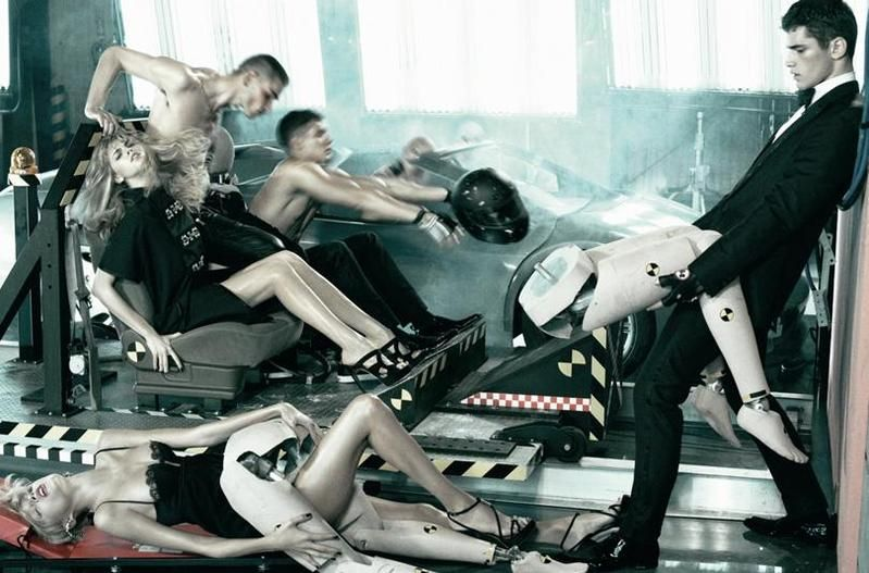"Steven Meisel on ""DSquared2"" 2008 Campaign"