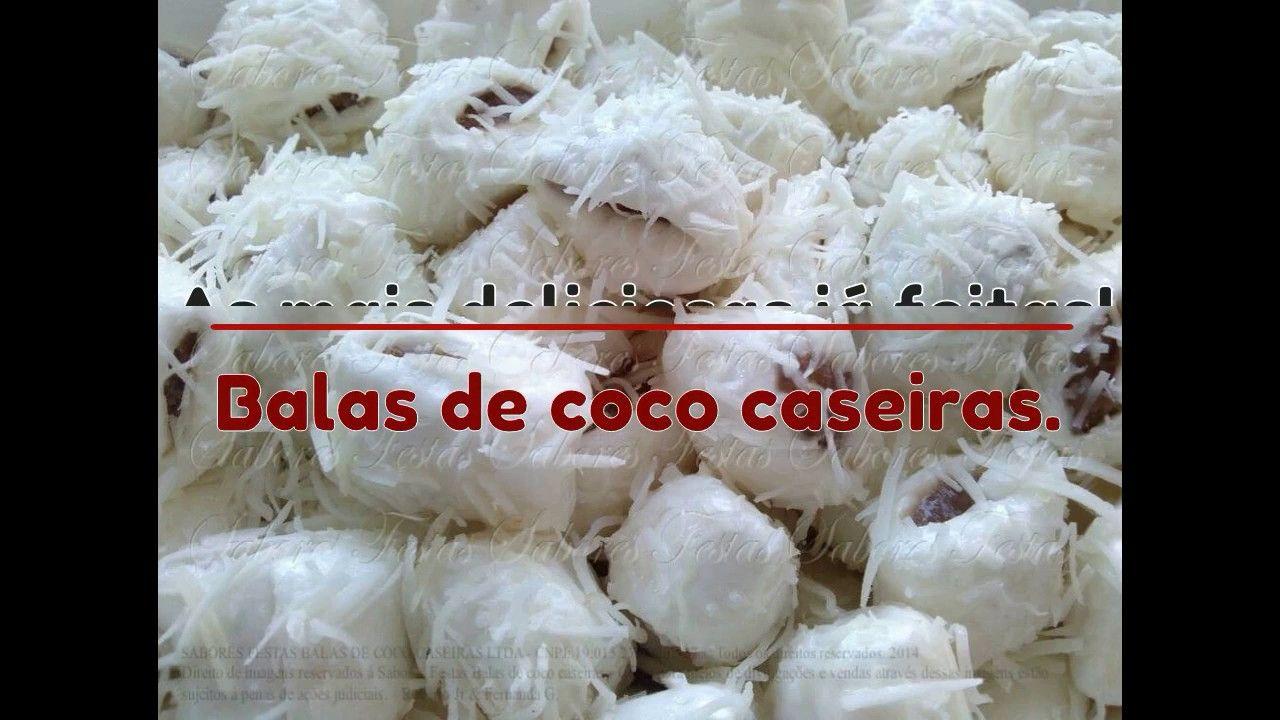 Bala De Coco Bala De Coco Caseira Balinha De Coco E Bala De