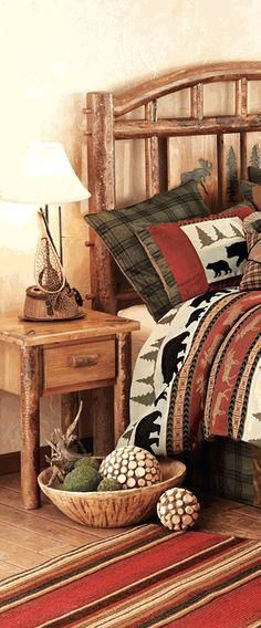 log cabin furniture ideas cool cozy winter decor bedroom 2 вариант