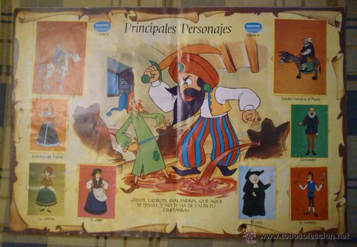 Album Don Quijote de la Mancha, Danone - Completo