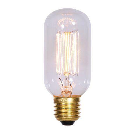 Vickerman T45 Clear Edison E26 Bulb 40w 120v 33amp Light Bulb