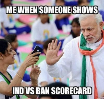These India Vs Bangladesh Memes Will Heat Up The Match For You Cricket Fever Cricket Indian Premier League 2017 Funny Jokes In Hindi Memes Jokes In Hindi