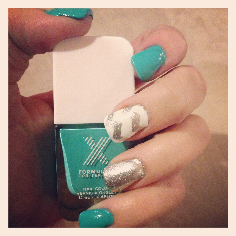 Free handed Formula X sephora SephoraSweeps FormulaX Nails