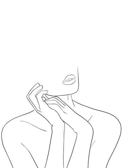 Simple Body Art Sketch 61 Ideas Line Art Design Line Art Drawings Abstract Line Art