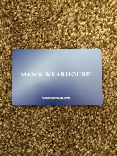 Coupons #GiftCards MEN'S WEARHOUSE GIFT CARD $200 NEVER EXPIRES ...