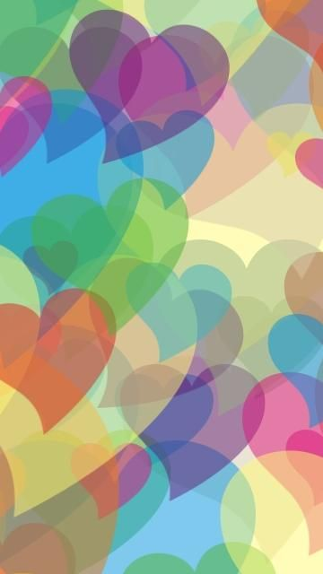 Abstract Color Hearts Wallpaper From Http Www Hdiphonewallpapers Us Abstract Colorful Wallpaper Phone Wallpaper Design