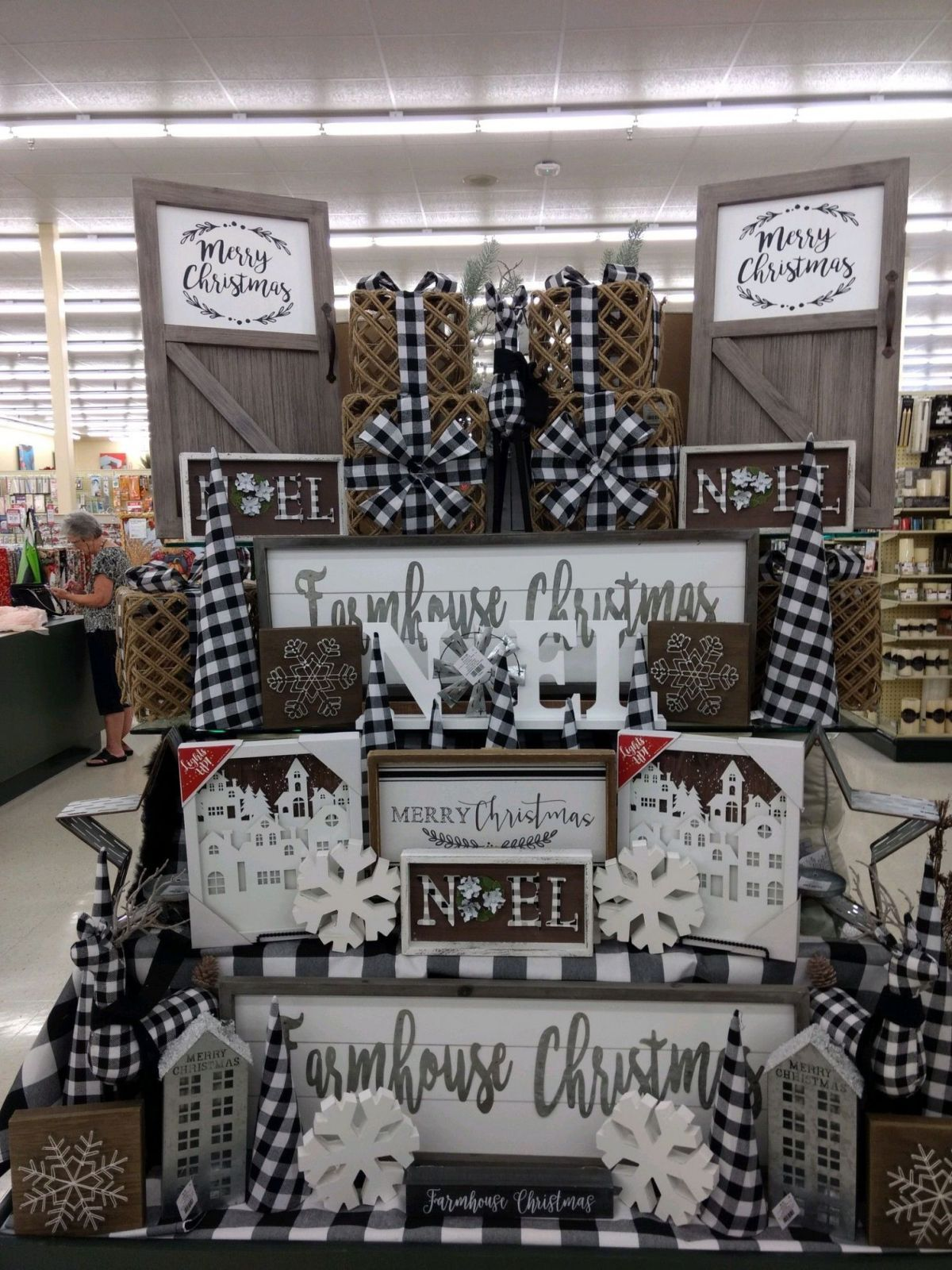 22 hobby lobby farmhouse decor ideas Farmhouse christmas