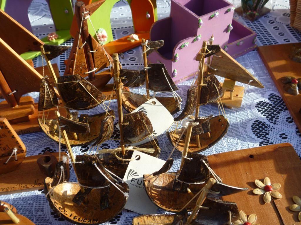 Adesivo Carenagem De Kart ~ Artesanato feito em madeira e coco Artesanato CEC FUCAM Pinterest