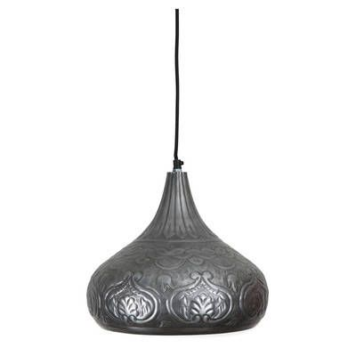 Lifestyle traders marrakesh embossed dome pendant light reviews temple webster
