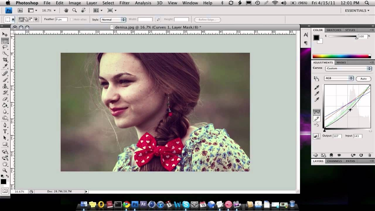 24 Photoshop Elements Tutorial Feathering Photoshop Lessons