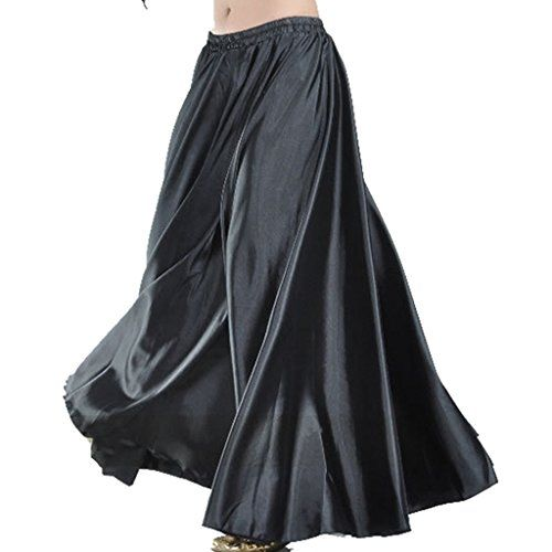 b9d791e520 MUNAFIE - Falda - Manga Larga - para Mujer Negro Negro Talla única ...