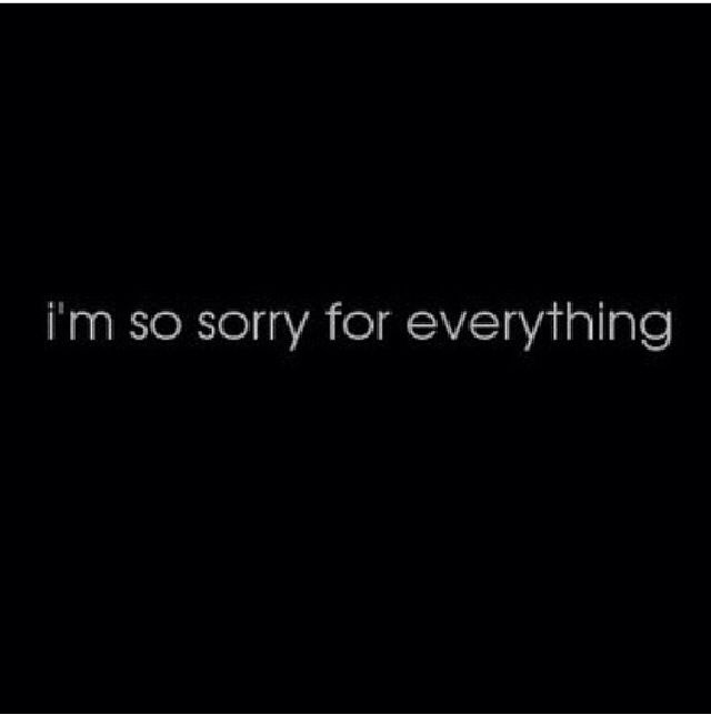I'm so sorry I messed up! I wish I could take it back. I wish I never hurt you. I love you please remember that, and your my only! The only one I want to be with! forever and always!